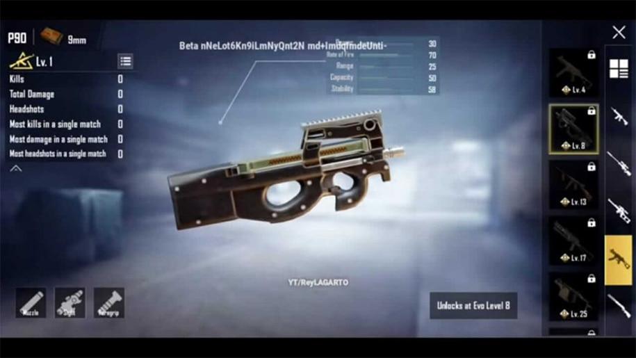 pubg mobile súng mới